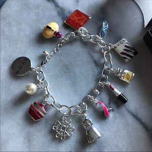 Avon Collectible Anniversary Charm Bracelet